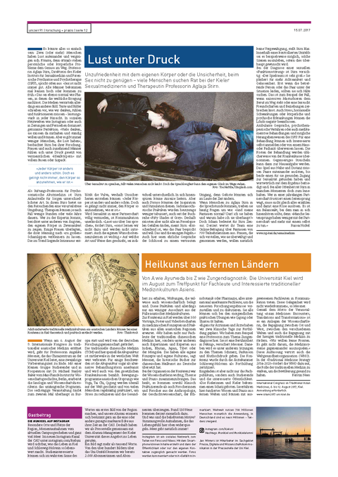 Article from Unizeit
