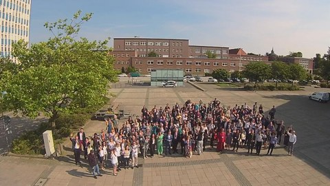 All participants aerial photo 1
