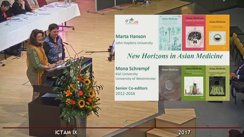 Marta Hanson and Mona Schrempf